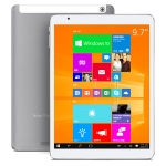 Telcast X98-Air-3G-W64GB-D-WIN10 Dual Boot Tablet PC with Intel Bay Trail Z3736F 9.7 Inch 2048x1536 pixels IPS Screen Dual Camera Bluetooth GPS 2GB 64GB