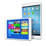 Telcast X98 Air -3G-W32G-D /W64G-D Dual Boot Tablet PC Android 4.4+windows 8.1 OS 9.7 Inch 2048x1536 pixels IPS 10 Point touch Capacitive Retina Screen Quad Core Dual Camera 2GB