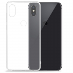 Transparent Back Cover Silicone Soft Cover Phone Case For Xiaomi Mix 2S/Mi Mix 2S