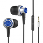 UIISII Hi - 810 In-ear Metal Stereo Bass Earphones with Mic On-cord Control  Hands-free Call