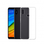 Ultra Thin Transparent Protective Back Cover Soft TPU Silicone Cases for Xiaomi Redmi Note 5 Pro