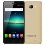 VKWORLD T5 MTK6580 1.3GHz Quad Core 5.0 Inch 2.5D IPS HD Screen Android 5.1 3G Smartphone