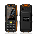 VKworld Stone V3 Waterproof Small Rugged Mobile Phone with 5200mAh Power Bank Dual SIM for Elder Man/Military