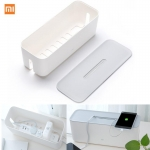 Xiaomi Power Cord Socket Storage Box Dust insulation Cooling Hole Strip Plug Base Finishing Tying Box Home Storag Tools