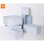 Xiaomi mijia yuansu storage box 6 pcs high density Oxford cloth box damp-proof for Socks Underwear Ties Bra clothes