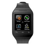 "ZGPAX S19 Smart Watch Phone Android Wristwatch 1.54"" Touch Screen 2MP Camera Bluetooth TF SMS FM Sync Handsfree"