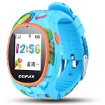 ZGPAX S866 Kid Smart Watch GSM Phone GPS LBS Wifi Bluetooth Location SOS Track Playback Regional Fence Remote Monitor -