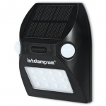 intelamp YL - 003 Solar Powered Dual Head Spotlight Motion Sensor