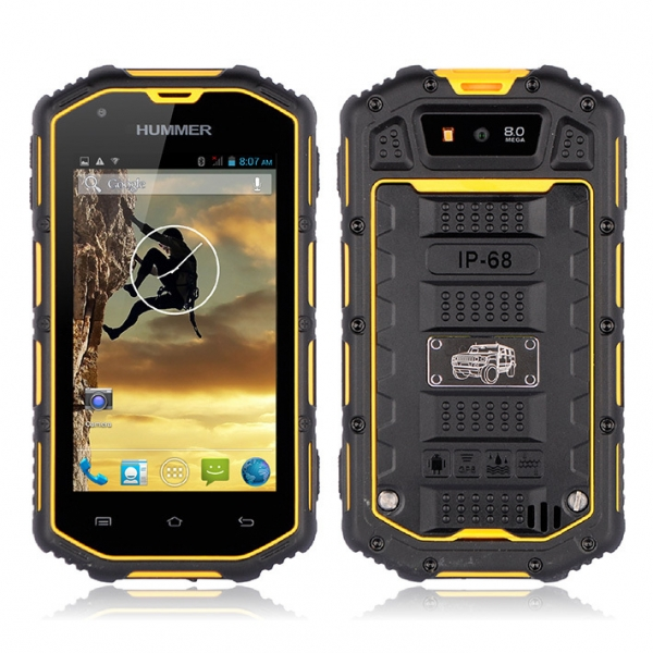 Waterproof Shockproof Dustproof Hummer H5 3g Smartphone