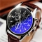 Yazole 271 Men Watch Luxury Brand Watches Quartz Clock Fashion Leather Belts Sports Watch