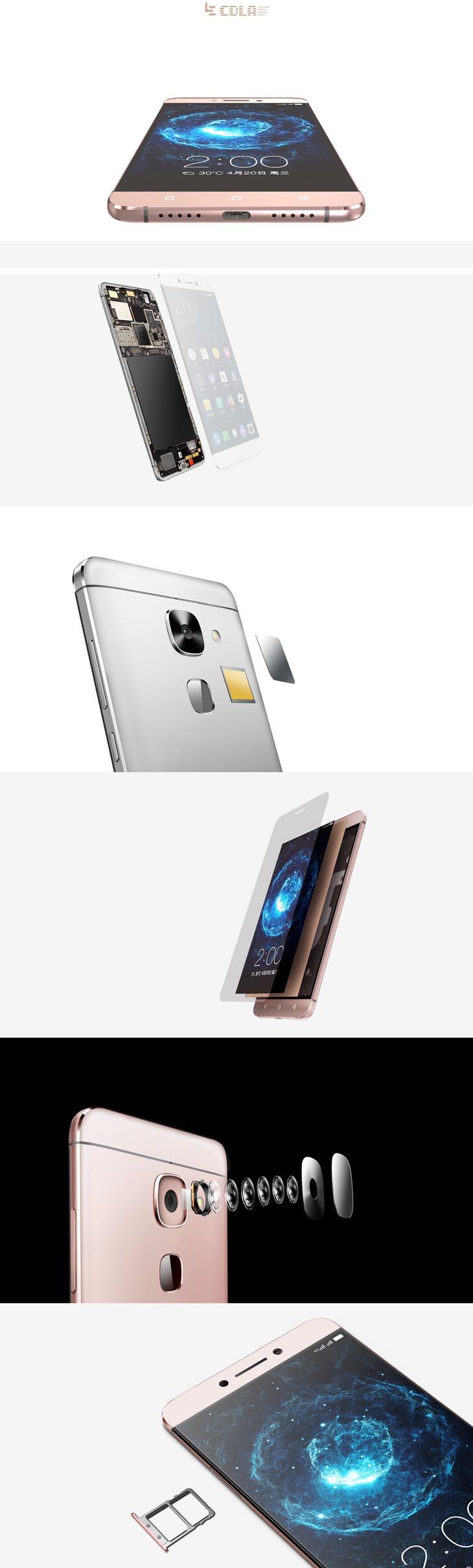 Letv Le Max 2 5 7'FHD X820 4G LTE 4GB 32GB Snapdragon820 21MP Touch ID