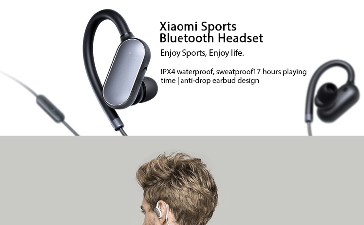 Original Xiaomi Bluetooth 4 1 Earphone Wireless Sports Headphones Waterproof Sweatproof