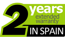 2 Year Warranty in Spain